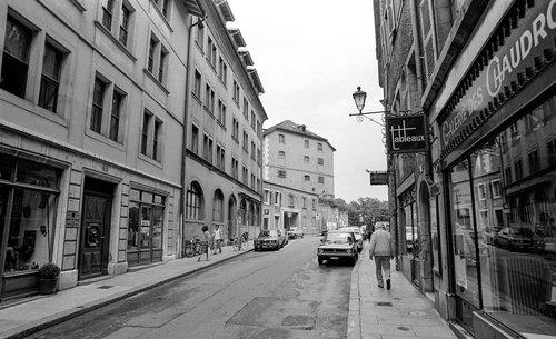 Genève, la Rue des Chaudronniers
