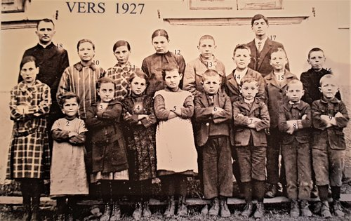 Ecole de Chandolin vers 1927 bis
