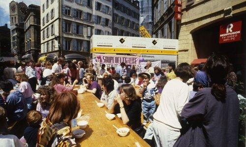 14 juin 1991 : images de la grève des femmes