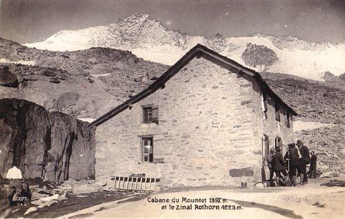L'ancienne cabane du Mountet
