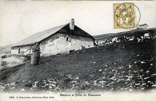 Métairie et Hôtel du Chasseral