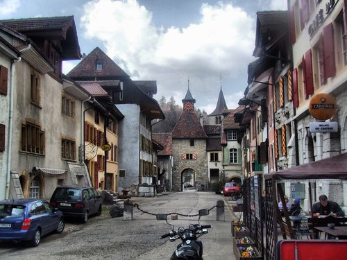 Le vieux bourg de Valangin