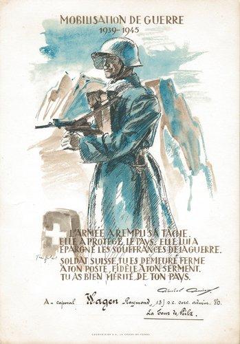 Mobilisation de Guerre 1939 -1945