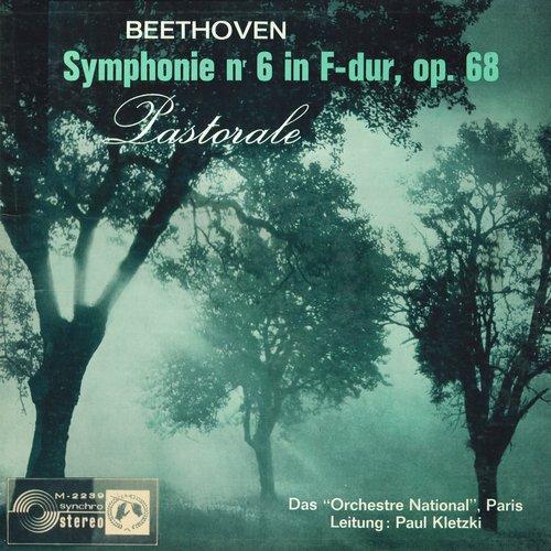 L.van BEETHOVEN, Symphonie No 6, ONRDF, Paul KLETZKI, SMS 2239, STÉRÉO, recto pochette