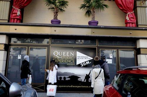 """Freddie Mercury """"Queen"""" au Casino à Montreux"""