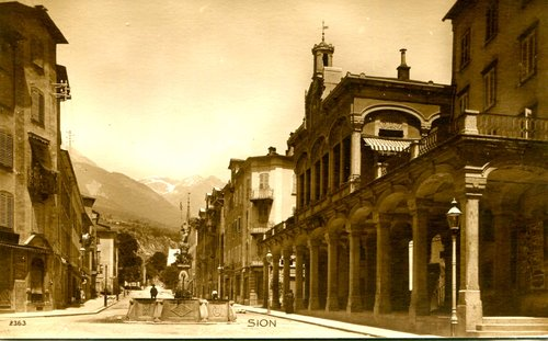 Sion, rue Grand-Pont