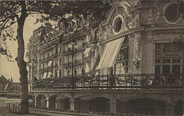 Lausanne Ouchy la terrasse du Palace Hôtel