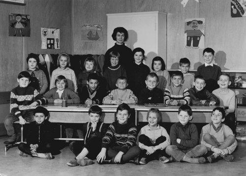 Ecole de la Blécherette 1962