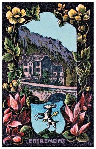 Les armoiries des districts du Valais par Adam Bauer