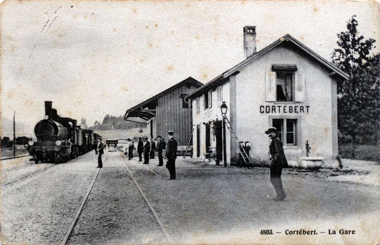 Gare de Cortébert
