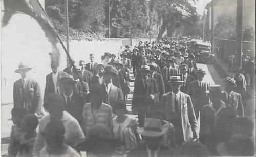 Cortège du centenaire 1914