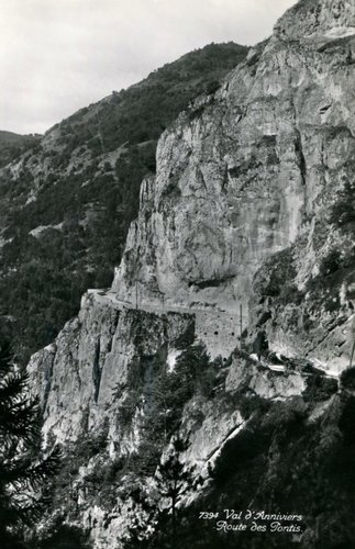 Anniviers, route des Pontis