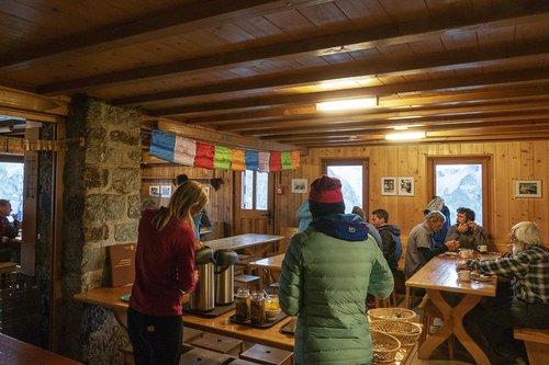 La cabane du Grand Mountet en 2018