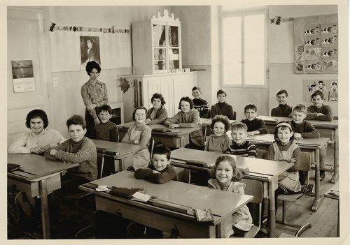 Bettens - Classe école 1965