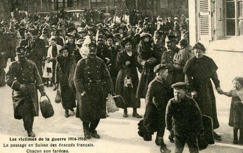 Les évacués français 14-18