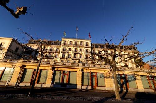 Hôtel des trois couronnes à Vevey