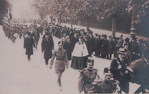 Lausanne défilé civil et militaire