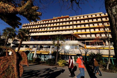 """L'hôtel """" Royal Plaza """" à Montreux"""