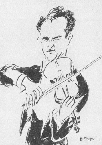 Edmond APPIA croqué par PETROVIC, 1936