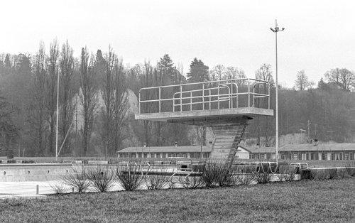 La piscine de Carouge, premier hiver
