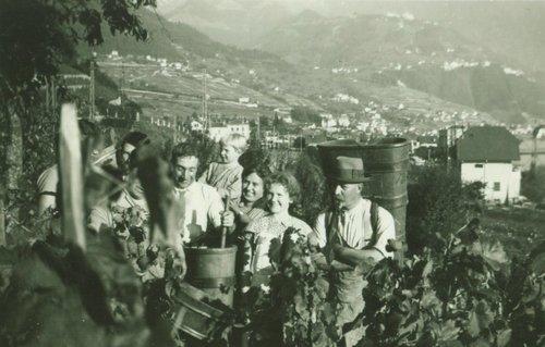 Vignerons entre Vevey et Clarens. 1941