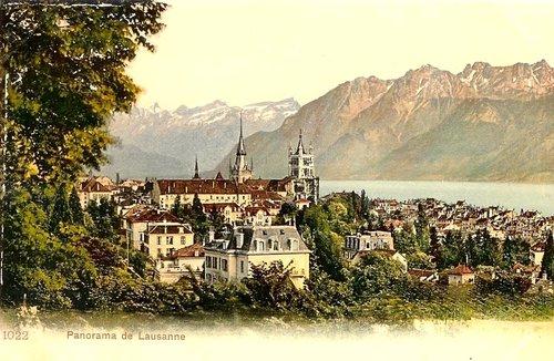 Lausanne, la cathédrale