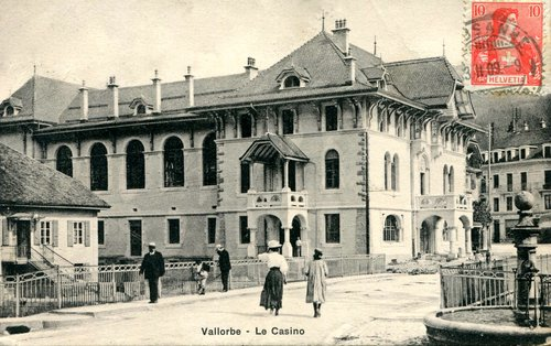 Vallorbe, le casino
