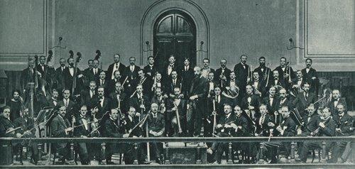 Ernest Ansermet et l'Orchestre de la Suisse Romande, 1919