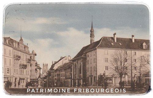 Fribourg - Rue de Lausanne