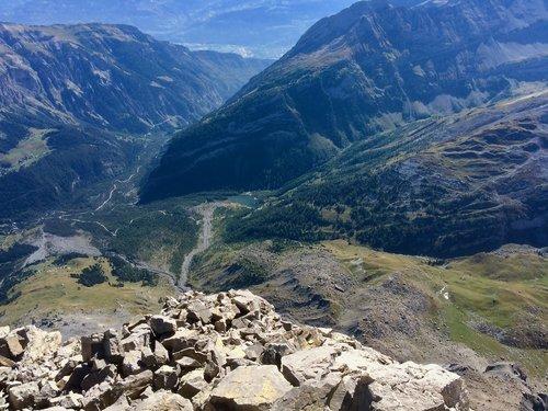 Derborence, 1450 mètres