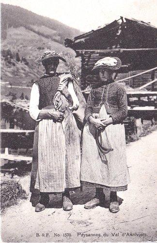 Paysannes du Val d'Anniviers
