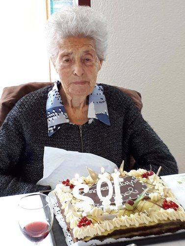 Mathilde ABBET fête ses cent deux ans