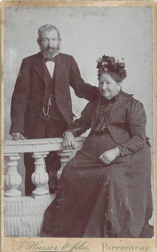 Chez le photographe en 1870