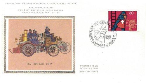 FSSP centenaire enveloppe premier jour