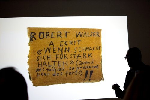 Robert Walser Sculpture