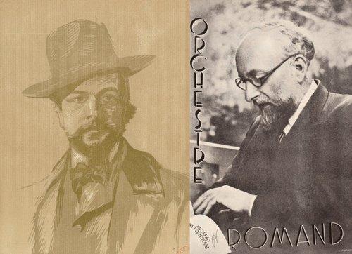 Claude DEBUSSY, «Six Épigraphes antiques», L 131, orch. d'Ernest Ansermet, OSR, Ernest ANSERMET