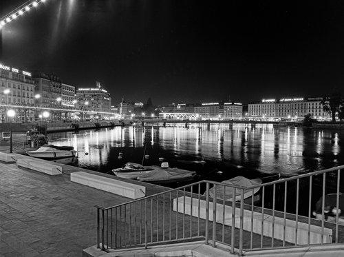 Genève la nuit