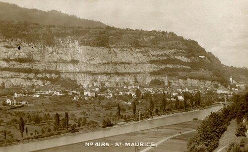 La commune de St-Maurice