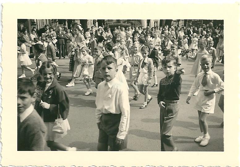 Fête de la jeunesse, Neuchâtel, 1955