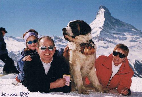 Vacances à Zermatt avec Estelle