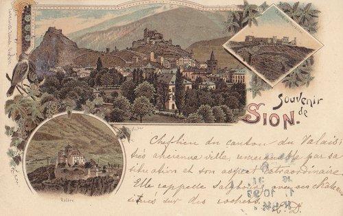 Souvenir de Sion fin du XIXè