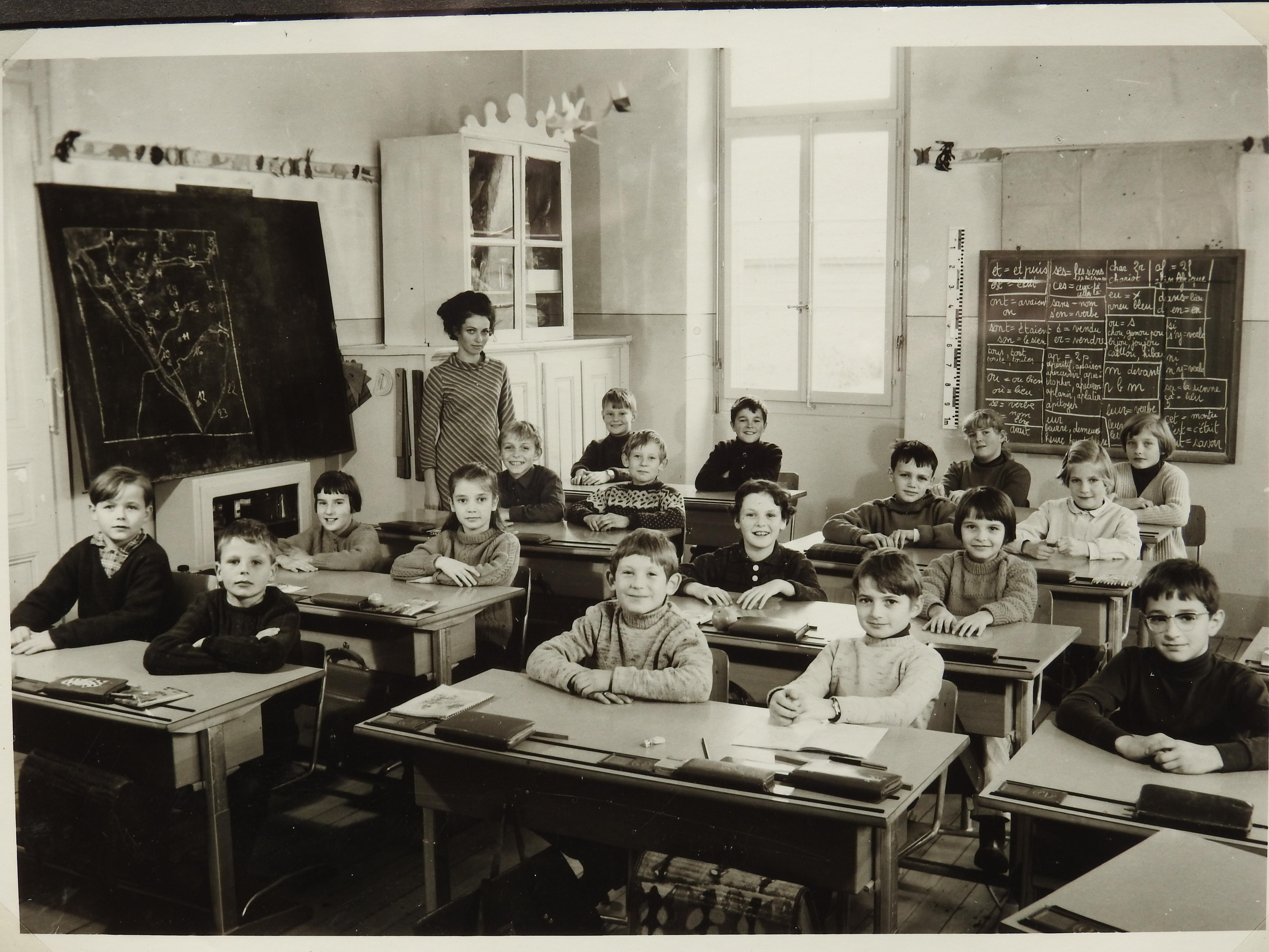 Bettens classe école 1967