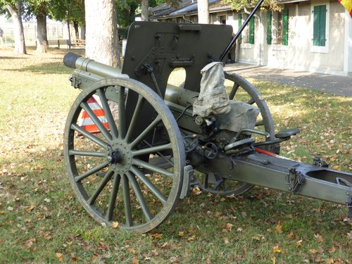 Artillerie suisse Obusier 1912