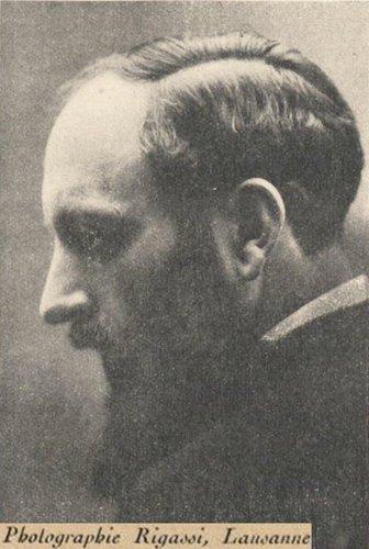 Ernest ANSERMET, env. 1921