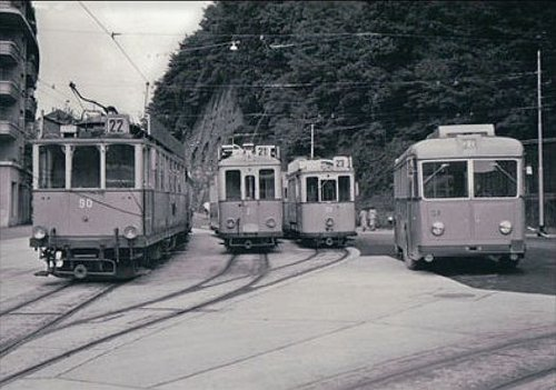 Lausanne Tunnel trams et trolleybus