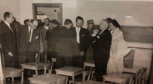 Inauguration de l'école primaire de la fontaine