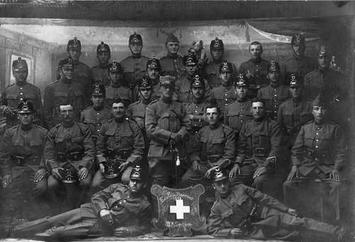 Ecole de recrue 1918 - 2e section