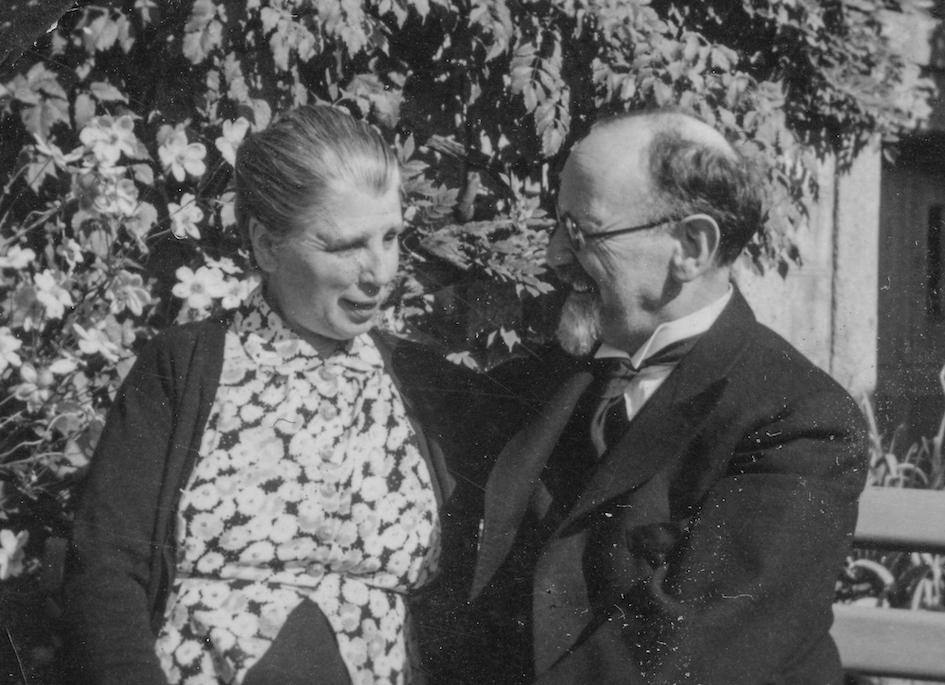 Famille de Franz et Mary Burnand