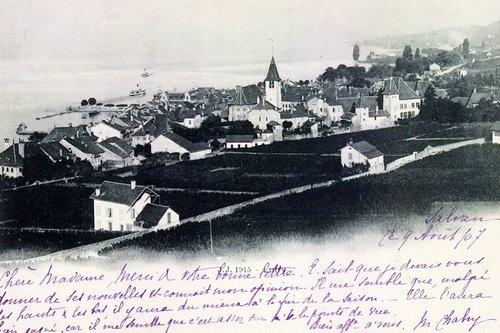 Le village de Lutry