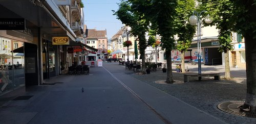 Bienne rue du Marché Marktgasse